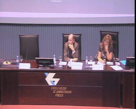 Mesa coloquio  - O Estatuto básico do empregado público: reflexións, estado da cuestión e impacto da crise